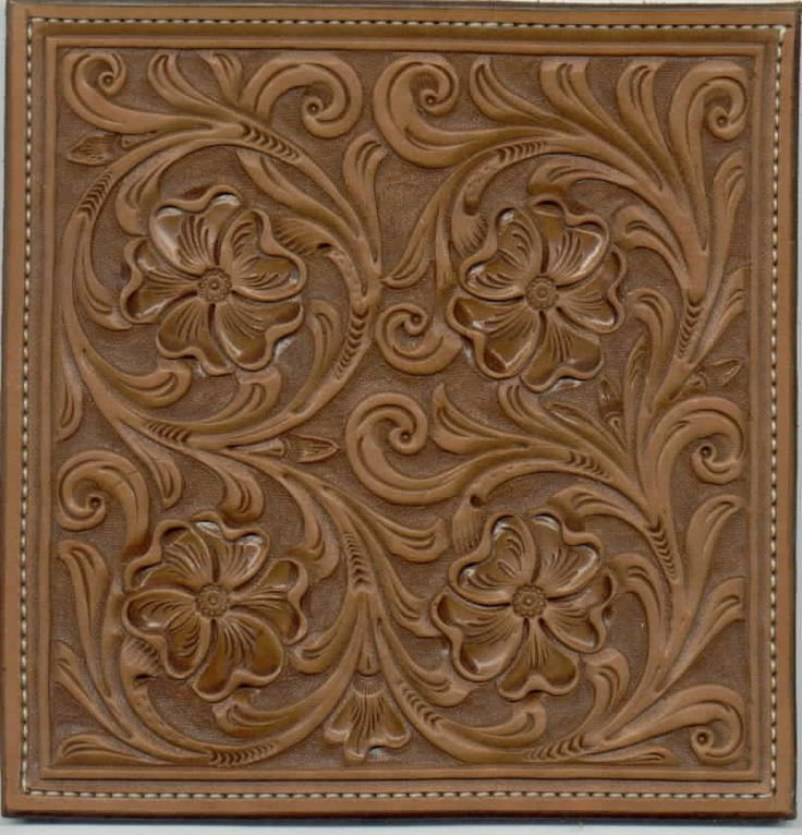 Western leather tooling patterns