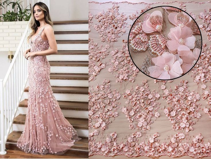 Shop your favourite embroideries on malagoli.ro!  This haute couture handmade lace, embroidered with 3D flowers and pearls is available now here: https://www.malagoli.ro/en/product/md-233  #MalagoliFabrics #Fabrics #Lace #HauteCouture #Fashion #Dress #Gown #Embroidery