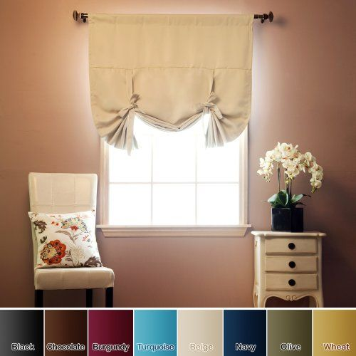30 best images about kitchen curtain ideas on pinterest for Best blackout window treatments