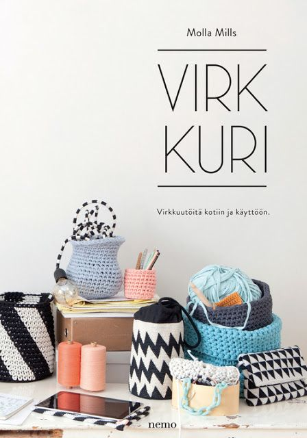 Molla Mills crochet book Virkkuri #tichtach