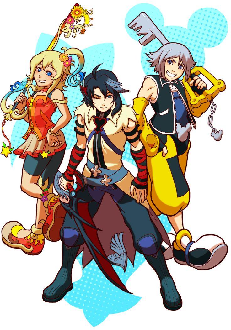 Kingdom Hearts Kairis Quest by SuperZeroman123 on DeviantArt
