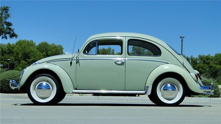 1964 VOLKSWAGEN BEETLE 2 DOOR SEDAN Maintenance/restoration of old/vintage vehicles: the material for new cogs/casters/gears/pads could be cast polyamide which I (Cast polyamide) can produce. My contact: tatjana.alic@windowslive.com