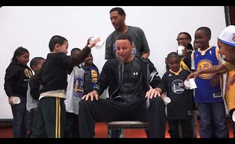 A little cold, but worth it if it gets kids drinking water. Thanks Brita and Oakland schools.Now spread the word.Let's get more kids picking H20. #stephcurry #lebronjame #NBA - http://www.halostar.net/sport-star-stephen-curry