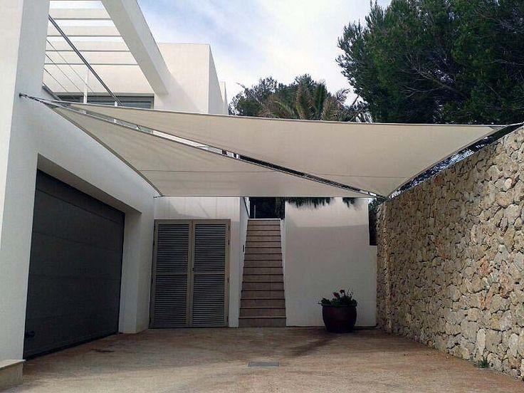 M s de 25 ideas incre bles sobre toldos vela en pinterest - Toldos de tela para terrazas ...