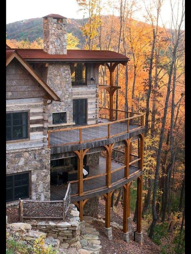 This looks like a very expensive log home but a great view for Extravagant log homes
