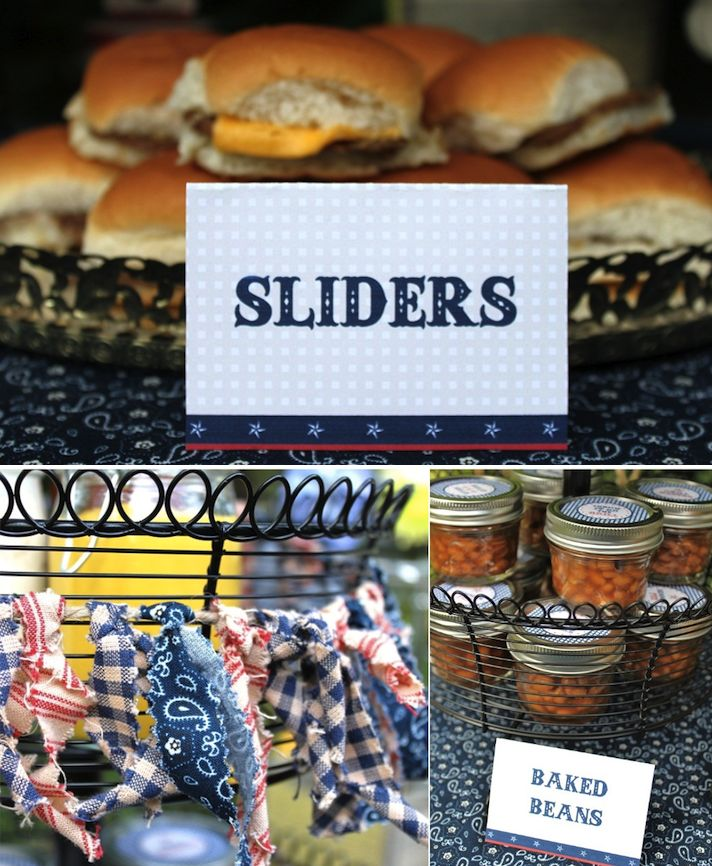 images of displays of reception food | Inspiration For Your Memorial Day BBQ Shindig » Alexan Events ... #memorialday #inmemory #USA #memorialdayfood