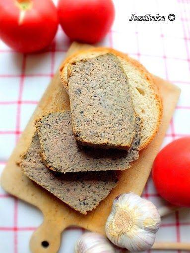 Pasztet z gotowanego mięsa z kaszą gryczaną i pieczarkami « Justinka