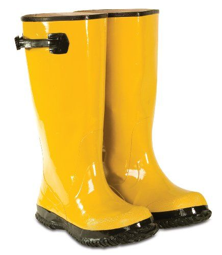 CLC Rain Wear R20008 Yellow Slush Boot, Size 8 >>> Visit the image link more details.