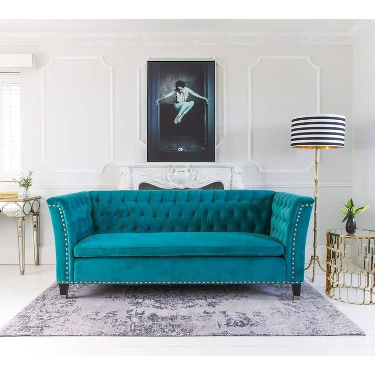 Best 25+ Teal Sofa Design Ideas Only On Pinterest