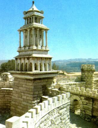 The Mariamne Tower - First Century Jerusalem - Bible History Online