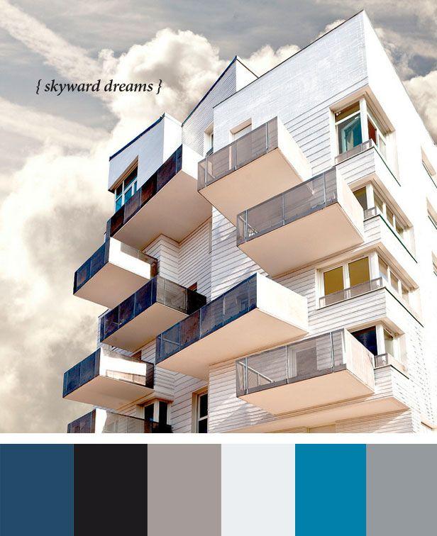 skyward, architecture, color palette