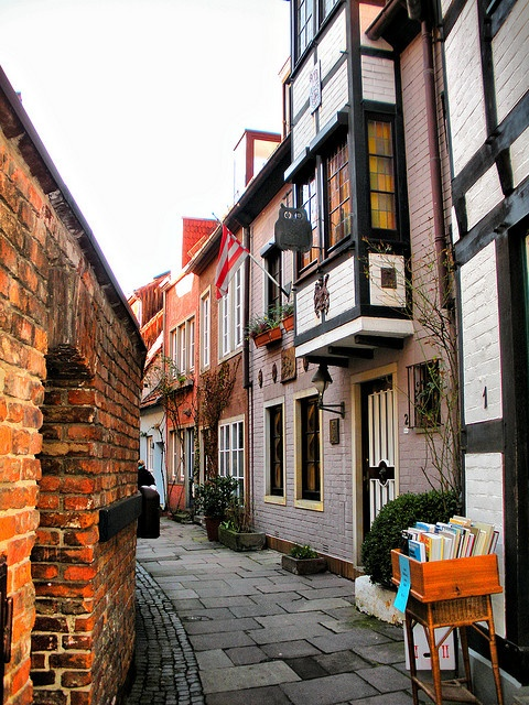 Bremen-love streets like this!
