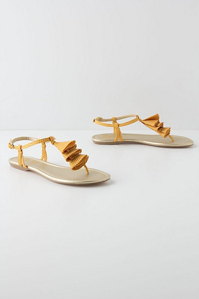 Drifting Triangles Sandals #anthropologie