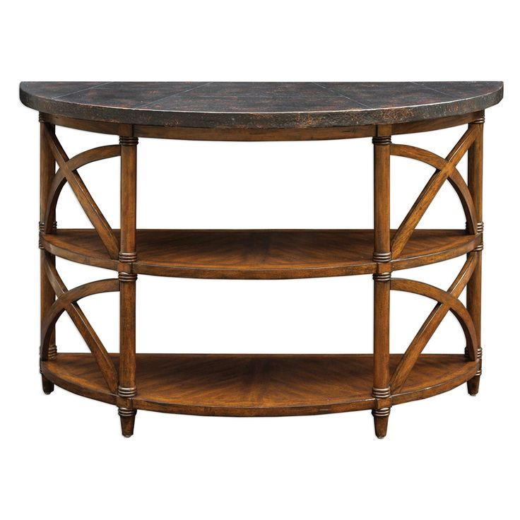 Uttermost Rada Wooden Console Table