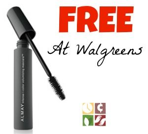 Grab your Almay Mascara Coupons and head over to Walgreens to get some FREE Mascara!