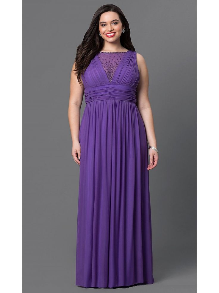 105 Best Plus Size Prom Dresses Images On Pinterest Party Wear