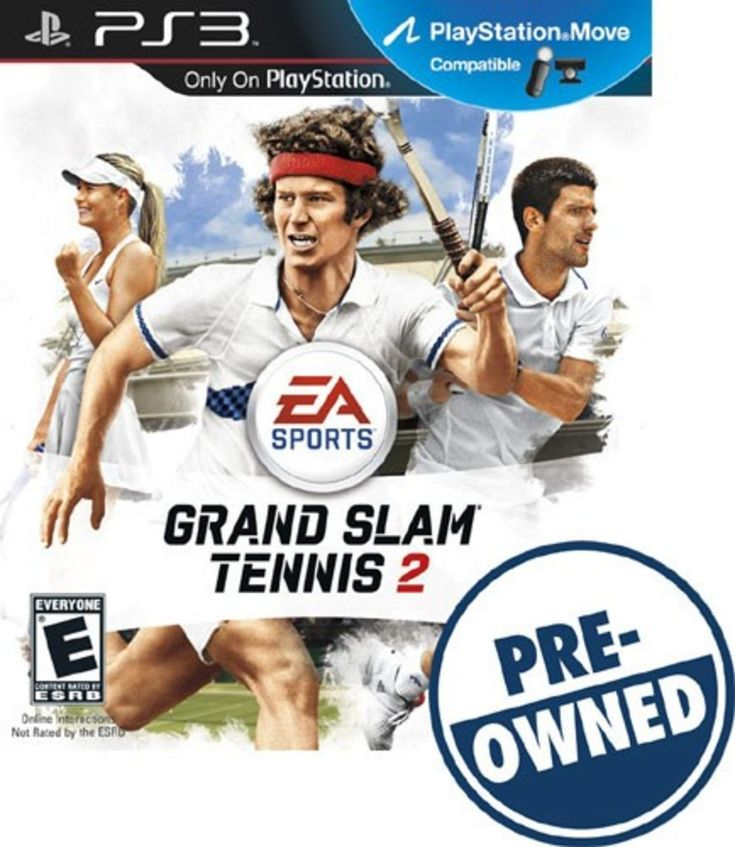 Grand Slam Tennis 2 - PRE-Owned - PlayStation 3