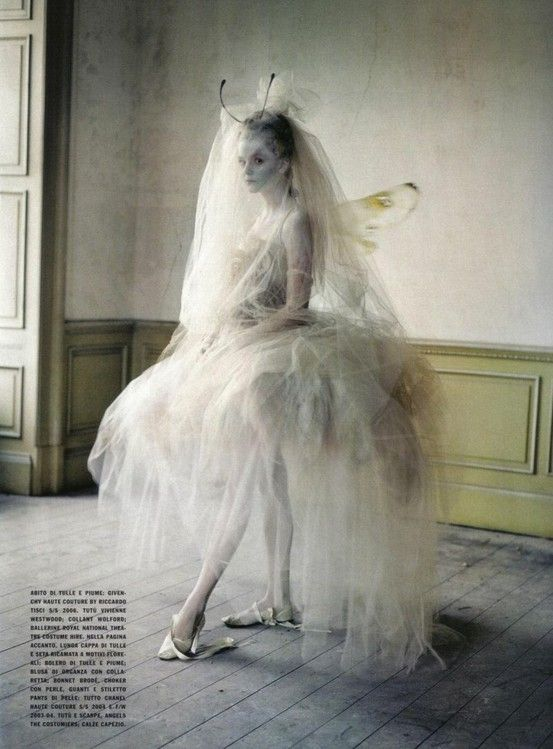 Lady Grey | Stella Tennant | Tim Walker #photography | Vogue Italy March 2010 by leonor