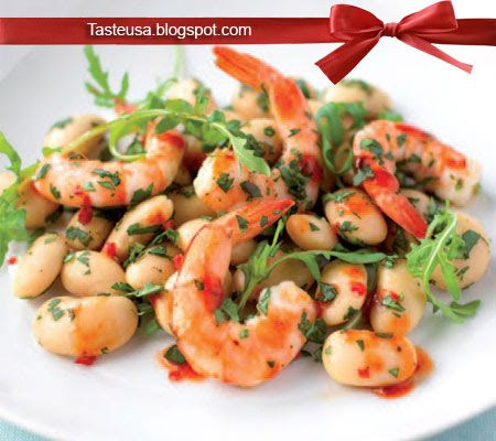 chile shrimp with cilantro and lime