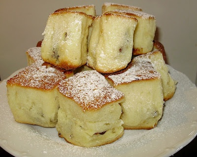 "From ""Traditional Czech Cuisine"" in 1880 called ""softer buns - ""BUCHTY""!"