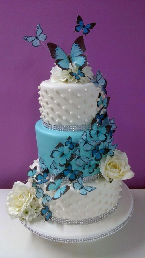 Best 25 Butterfly Wedding Cake Ideas On Pinterest Cake