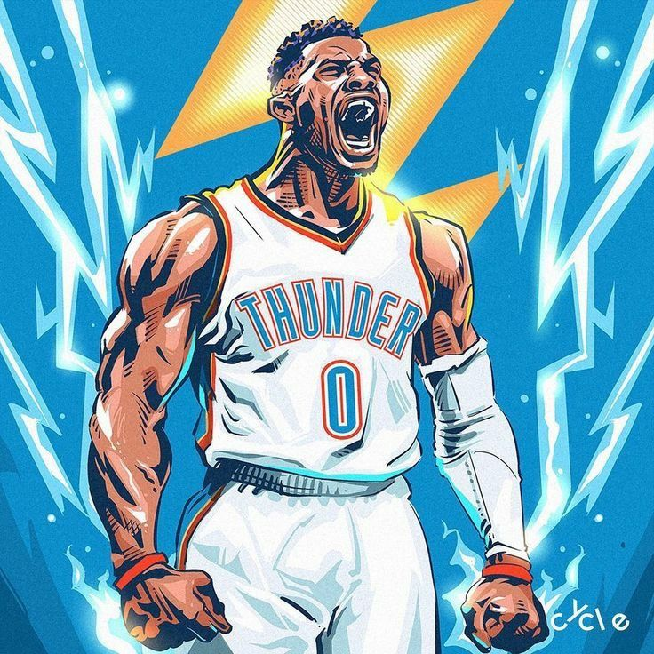 Russell Westbrook Cool Images Westbrook Wallpapers Mvp Basketball Nba Art