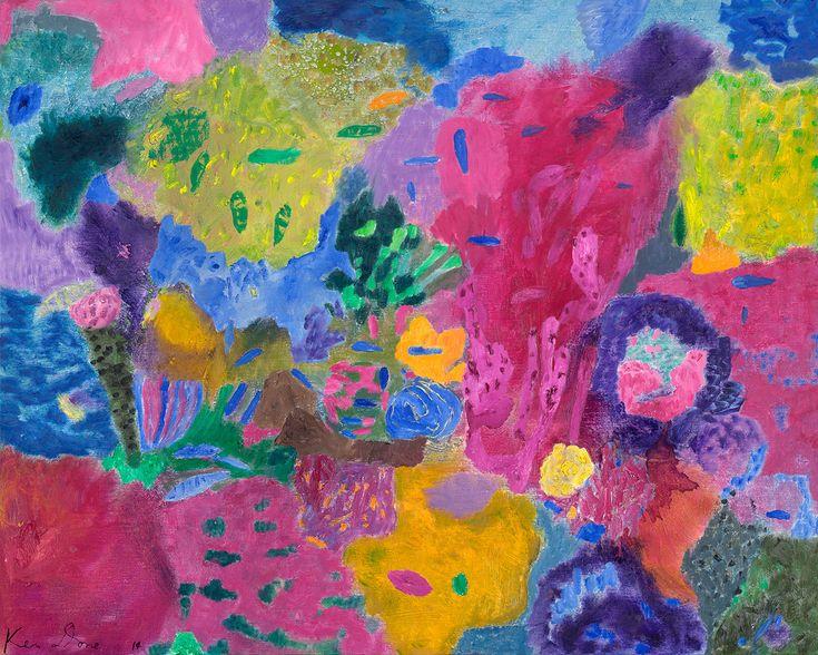 Ken Done - art / current exhibition / gallery / murano-reef-2014