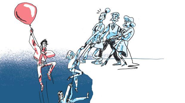 Hvis ikke samfundets udsatte skildres som stagneret på offentlige ydelser, optræder de gerne i individfortællinger om karakterstærke mønsterbrydere, der har kæmpet sig op. Men dermed fortrænges fortællingen om velfærdssamfundets brede sociale indsats, mener kritikere