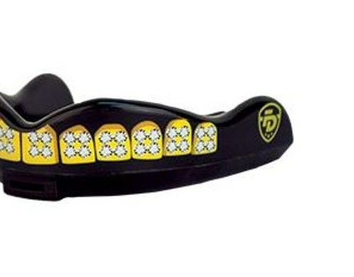 Junior Fight Dentist Mouthguard with Grillz made smaller to fit children's and women's mouths. Just $25.00