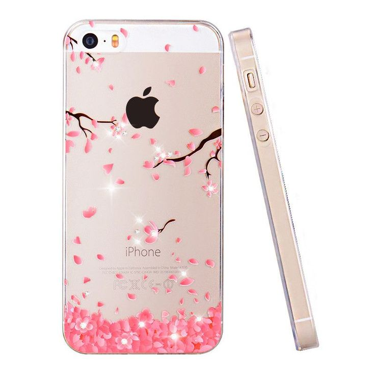 PZOZ For iphone 5se case Rhinestone glitter silicone cover original For iphone 5 s luxury 3D cute cartoon Shell ipone 5s #Iphone5s