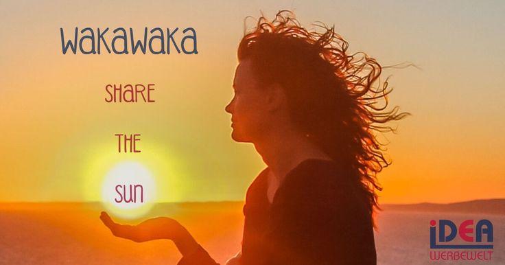 Werben und gleichzeitig Gutes tun! Teilen Sie die Sonne mit den WakaWaka Solarlampen und Solarpowerbanks. Umweltfreundliche, praktische Werbegeschenke für Ihre Kunden, die hilfebedürftigen Menschen in Krisenregionen den Zugang zu Elektrizität ermöglichen.   http://www.idea-werbewelt.de/werbeartikel/wakawaka-share-the-sun