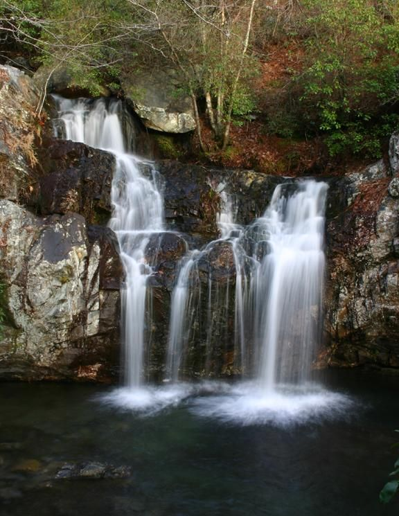 High Falls, Talladega National Forest, Alabama - some place I might actually be able to go