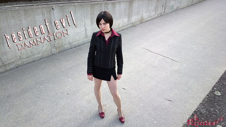 Ada Wong Resident Evil / Biohazard Damnation cosplay V by Rejiclad.deviantart.com on @DeviantArt