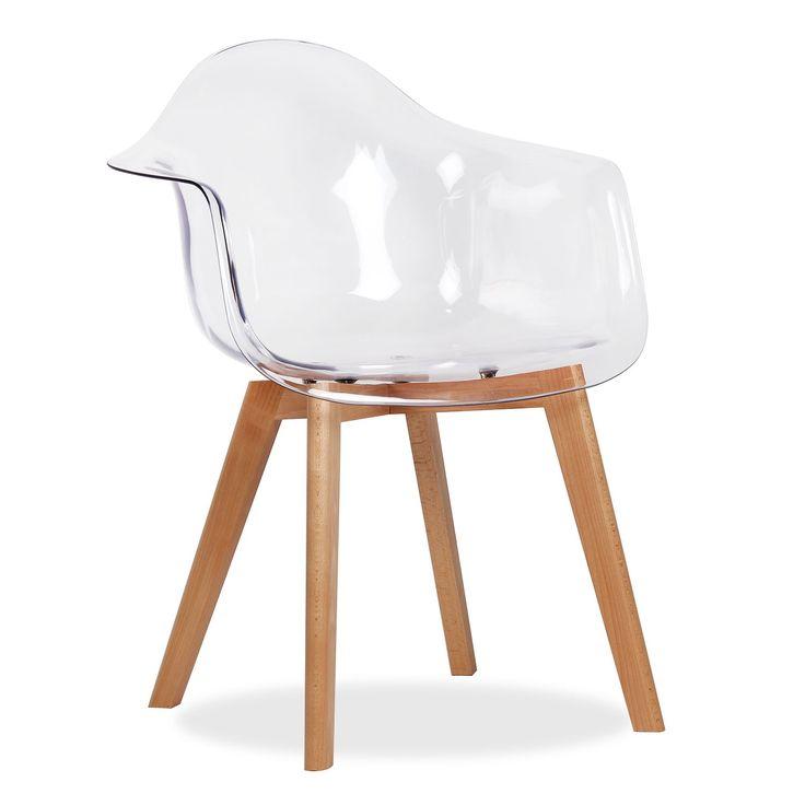 Les 25 meilleures id es concernant chaise transparente sur - Chaise de bureau transparente ...