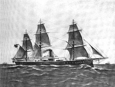 Dawlish Chronicles : The loss of SMS Grosser Kurfürst, 1878