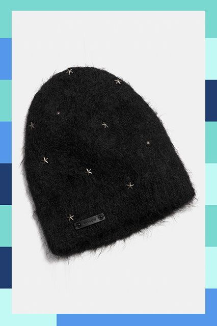 27 Cool Beanies For The Non-Hat Girl #refinery29  http://www.refinery29.com/cool-beanies#slide-16  Star light, star bright...definitely going to make this beanie ours tonight....