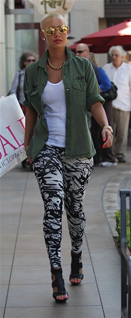 amber rose street style look a like - Cerca con Google