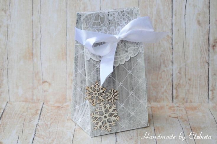 bag; gift bag; christmas; christmas bag; paper collection Oczarowanie; Ela