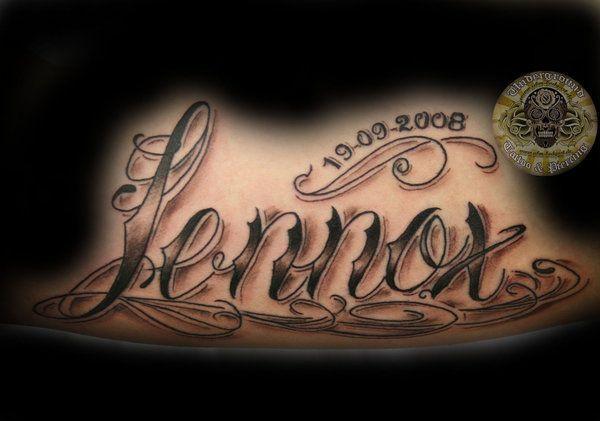 Image detail for -Name Tattoos, Name Tattoo Designs & Name Tattoo Ideas