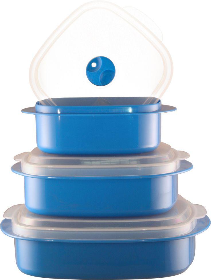 Stackmines - Calypso Basics 6-Piece Microwave Cookware, Storage Set, Azure, $12.99 (http://www.stackmines.com/calypso-basics-6-piece-microwave-cookware-storage-set-azure/)