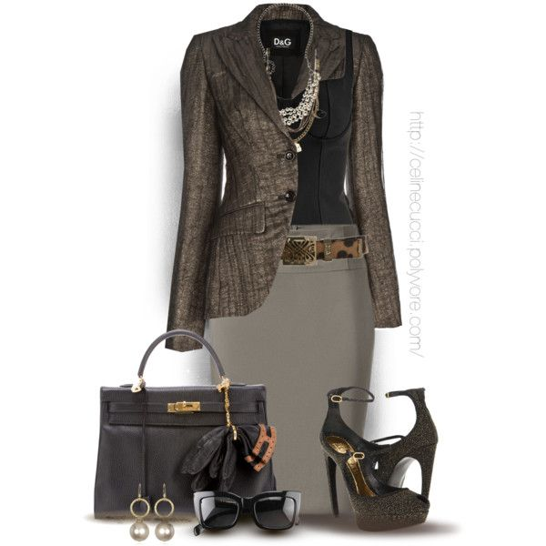 Office Elegance, created by celinecucci on Polyvore