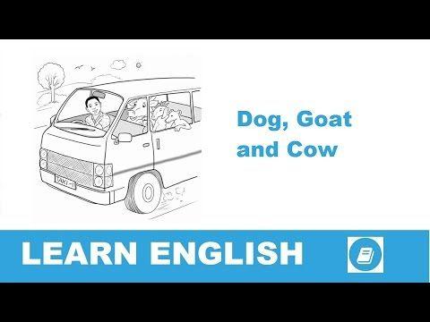A kutya, a kecske és a tehén - Angol történet | E-Angol.eu