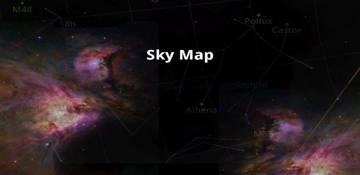 Sky Map convierte tu teléfono Android en una ventana abierta al cielo nocturno.  De código abierto y donado por Google.