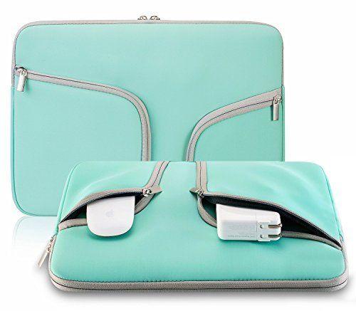 Evershop® Zipper Briefcase Handbag Sleeve Bag Cover Case for Macbook Air & PRO 11 inch & Universal Laptop Netbook 11 inch (Teal), http://www.amazon.com/dp/B01486SP44/ref=cm_sw_r_pi_awdm_00FUwb0FWQV4C
