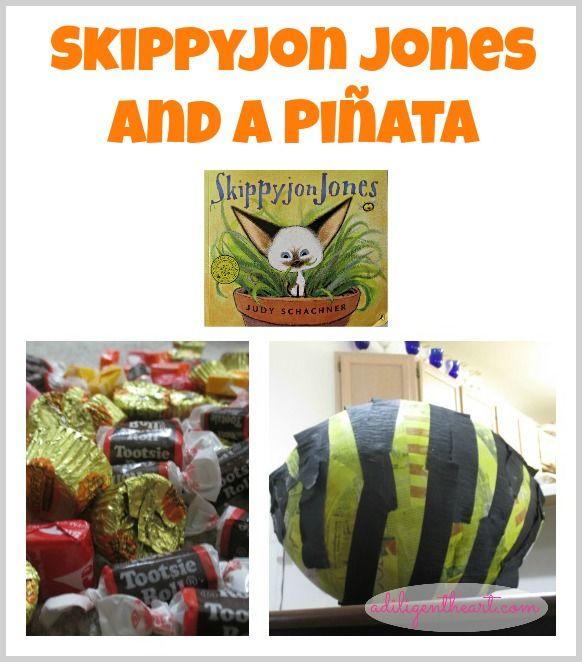 Skippyjon Jones and a Piñata - craft to go with the book!