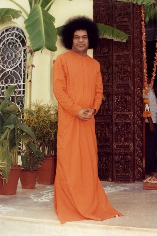 I stand by the side of whoever repeats my name.  - Sri Sathya Sai Baba