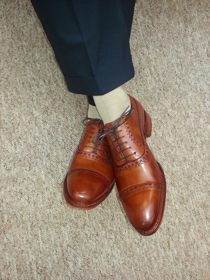 Jim Neilly in his new brogues