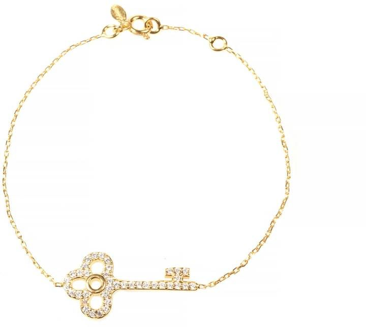 Latelita London - Key Bracelet Gold