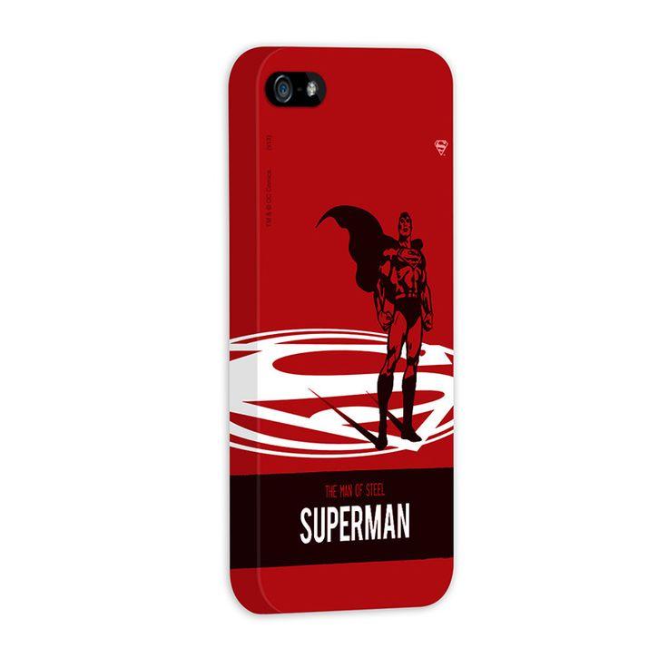 CAPA DE IPHONE – DC COMICS – SUPERMAN – THE MAN OF STEEL