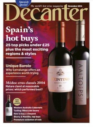 Enológica LA BOHEMIA  Valderiz, the highest rated Ribera del Duero in DECANTER Magazine - http://www.enobohemia.com/